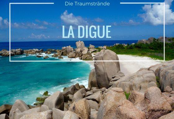 Traumstrand Anse Marron auf La Digue