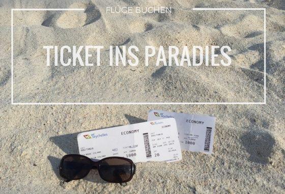 Ticket ins Paradies - Flug auf die Seychellen buchen