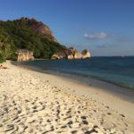 Einer der schönsten Strände der Welt: Anse Source d' Argent auf La Digue