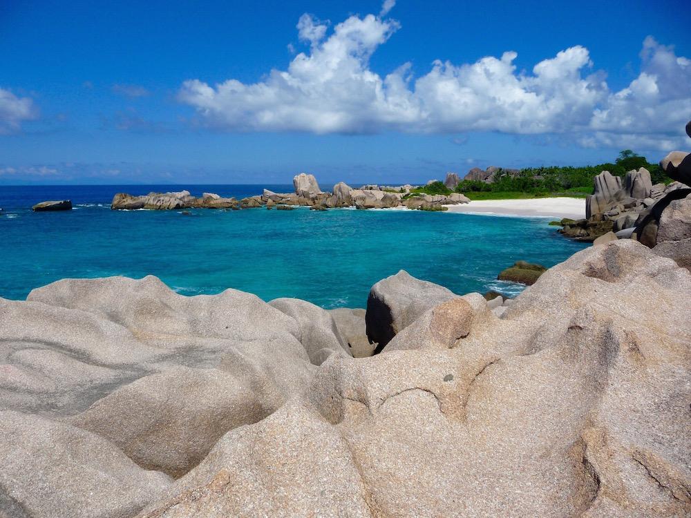 La Digue Blick auf Anse Marron seychellen-reisetipps