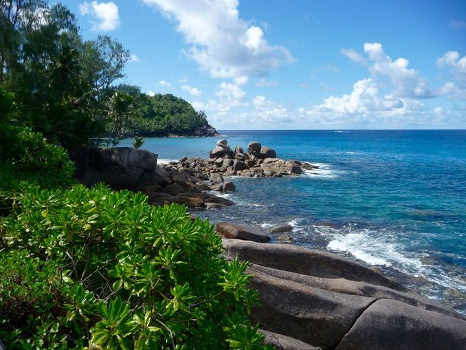 Police Bay, Mahe, Seychellen